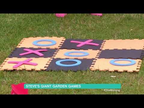 Steve Wilson's Giant Garden Games | This Morning