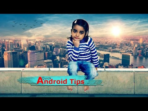 How to Change Background of Photo in android or iPhone | Photo Manipulation