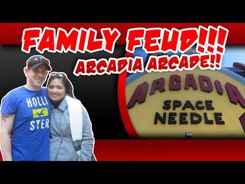 Arcade Dad Family Feud Gatlinburg edition, $10 Arcade Challenge Arcadia Arcade with punishment