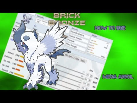 Pokémon Brick Bronze How To Use - Mega Absol