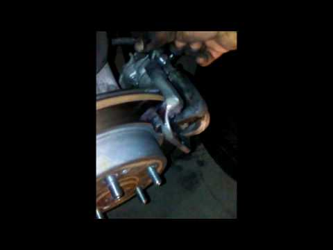 Replacing rear brakes 2013 honda accord