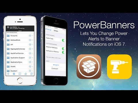 PowerBanners: Lets You Change Power Alerts to Banner Notifications on iOS 7