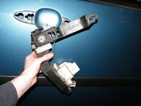 Ford Focus Power Door Lock Motor Change