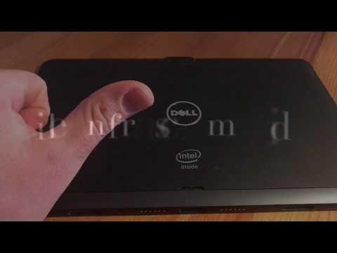 Dell Venue 11 bios und Diagnose starten durch Tasten Kombination Dell Tablet Wartung Anleitung