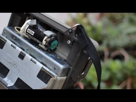 How to Clean Battery Corrosion on a Polaroid Landcamera