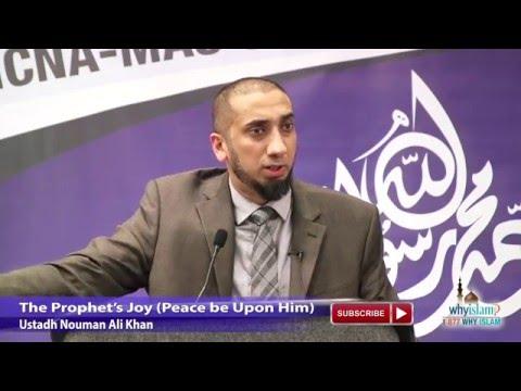 The Prophet's Joy (Peace be Upon Him) - Ustadh Nouman Ali Khan