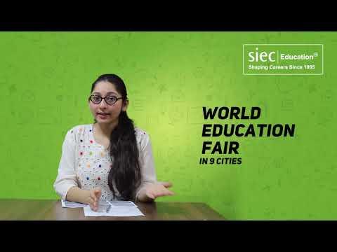 SIEC's World Education Fair 2018 in New Delhi   Study Abroad