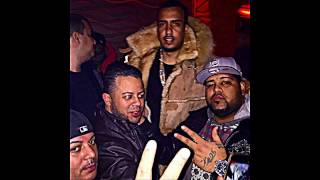 SKIZZ BANGA on stage recording DAVE EAST freestyling at a LOUARMSTRONG party