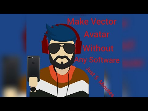 Create Vector Image Without Using Any Software