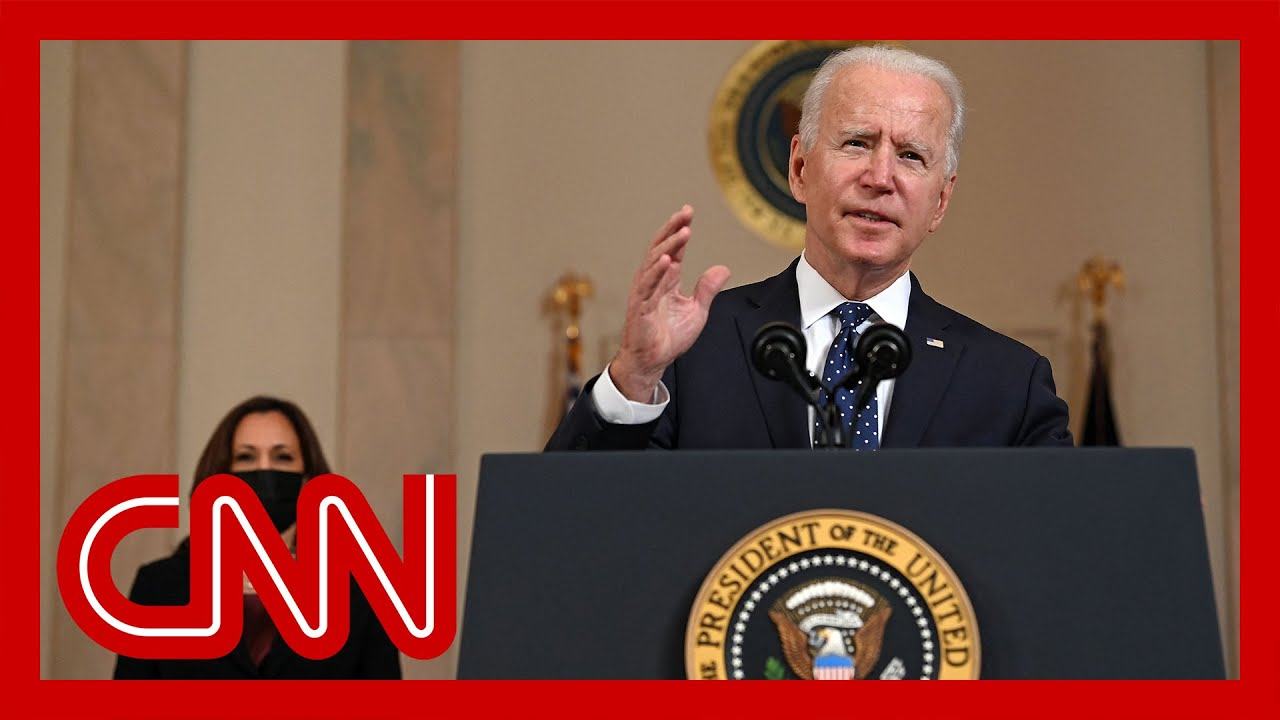 Biden and Harris speak after Chauvin verdict