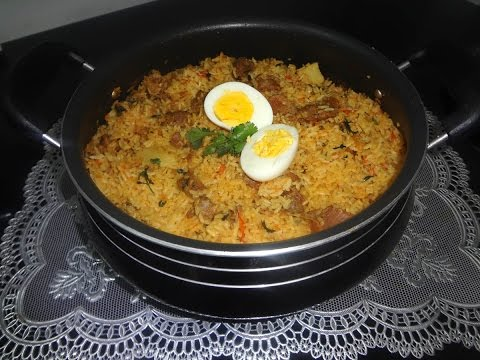 Hyderabadi Tahari Recipe (Authentic Mutton Tahari)
