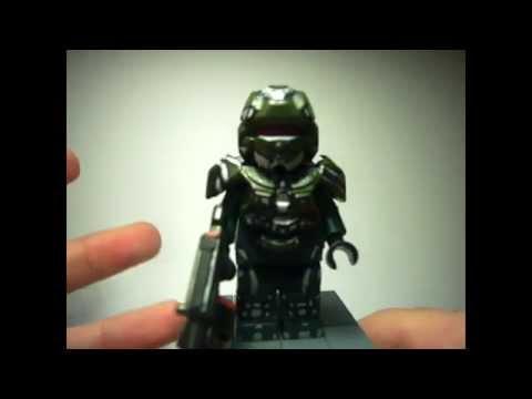 Custom Figures Reviews! Season 1 - Week 1 - Minecraft Skin, Halo 4 Avatar, Emile and Six!