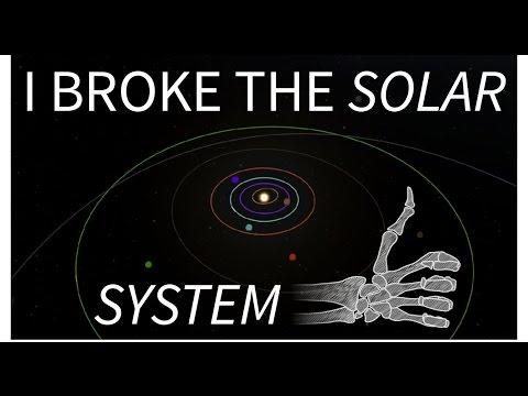 Breaking The Solar System - KSP