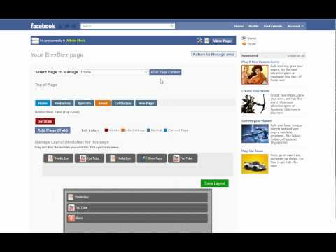 Video 5 - How to edit the LIKE settings on your facebook fan page