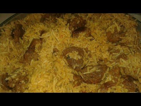 Mutton Hyderabad special Tahari - Ghosh ki Tahari Hyderabadi ||ReUpload||