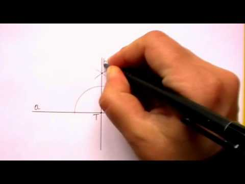 Constructing Perpendicular Lines (using a straightedge and compass)