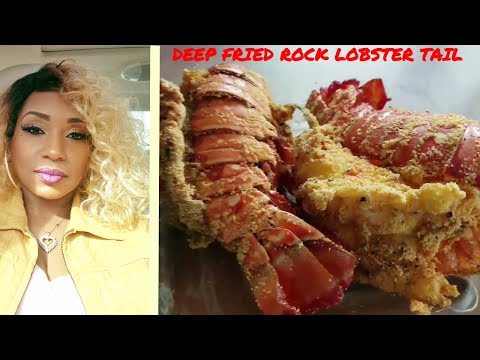 My First Time Frying Lobster Tails
