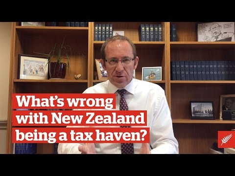 What's wrong with New Zealand being a tax haven?