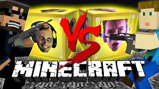 Minecraft: FACES LUCKY BLOCK CHALLENGE | Quick scope Battle!