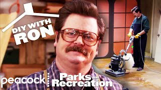DIY With Ron Swanson - Parks and Recreation