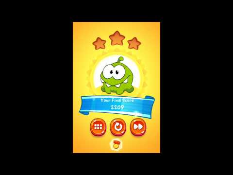 Cut The Rope 2 Sandy Dam 2-9 to 2-16 Medals Walkthrough