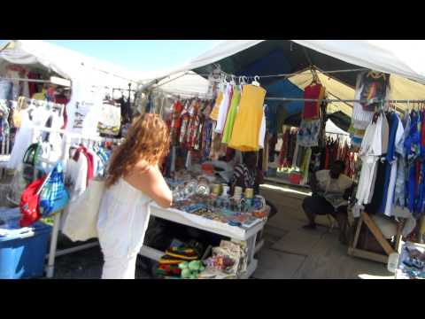 British Virgin Islands open market on the Island of Tortola