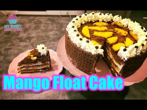 Chocolate Mango Float Cake