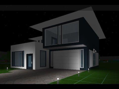 Roblox   Bloxburg   Budget Build   Modern House
