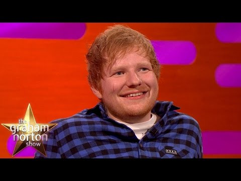 Ed Sheeran Isn't Allowed to Talk About His Royal Scar - The Graham Norton Show