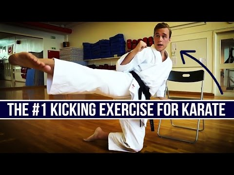 #1 KARATE KICK EXERCISE FOR KICKING TRAINING — Jesse Enkamp