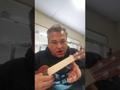 Old McDonald had a Farm, ukulele open C tuning
