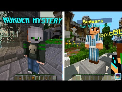 How to get Hypixel On Minecraft PE 1.1 - Murder Mystery Server for mcpe 1.1 and BEDWARS SERVER