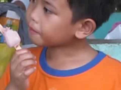 ang sarap nang pinipig ice cream