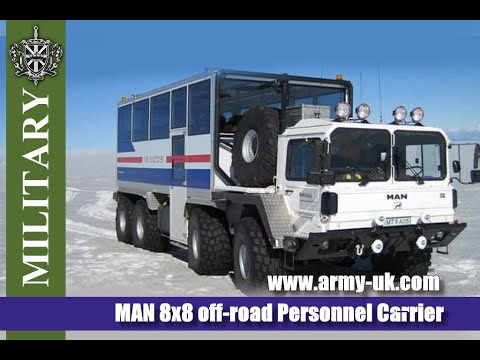 MAN 8x8 off-road Personnel Carrier. Used military vehicles for sale