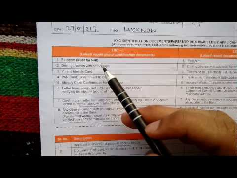 How to fill Bank of Baroda Saving bank account opening form[ Part 2 ] || HD || simplified in Hindi