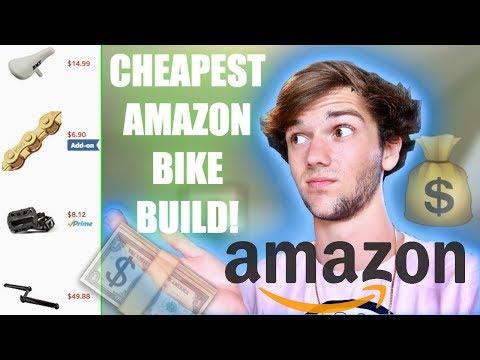 CHEAPEST AMAZON BMX BIKE BUILD! *PART 2*
