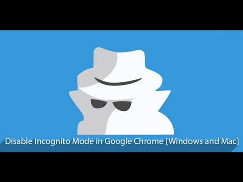 How to Disable Incognito mode in Google Chrome (Romanian Language)