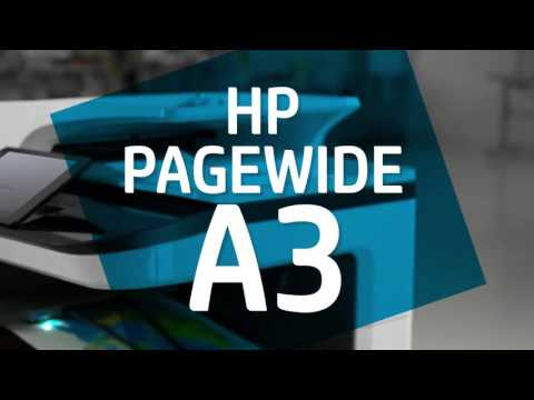 HP PageWide A3 Printers   Fast, efficient, affordable color