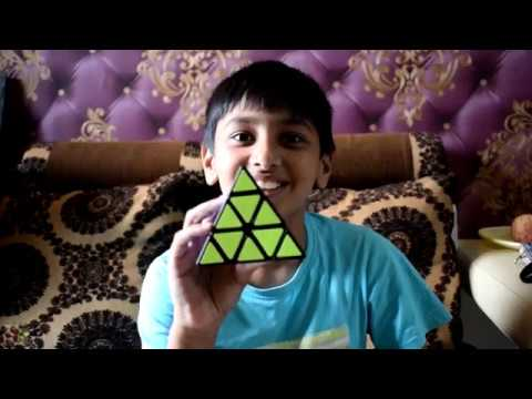2 Mins! SOLVED RUBIK's PYRAMID in RECORD TIME | Quick & Easy Trick For Children