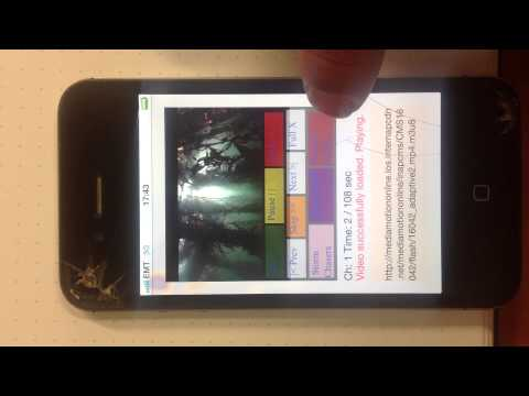 HLS & Quicktime with HTML5 @ iOS 5.1.1 and iPhone 4S
