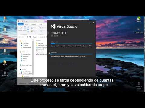 Descargar e Instalar Visual Studio Ultimate 2013 Full y en español [2017]