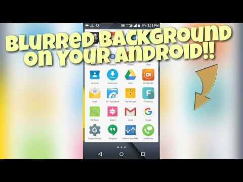 Get Blurred Background on Android!!