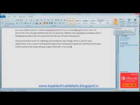 how to check spelling and grammar in microsoft word 2010