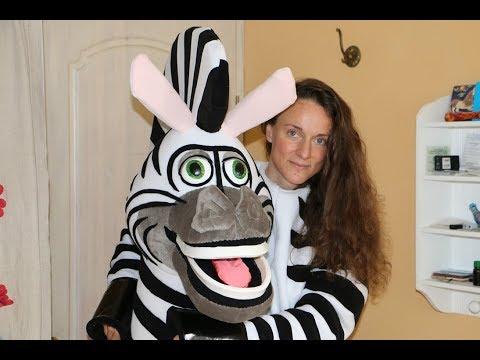 Suiting up Zebra mascot costume. Hi, I'm making mascot costumes
