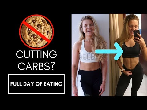 WHY I'M CUTTING CARBS | IIFYM Full Day Of Eating: What I Eat In A Low Carb Day