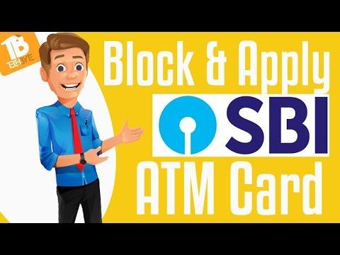 SBI Debit Card | How to Block & Apply & Activate  through Online Banking | TELUGU