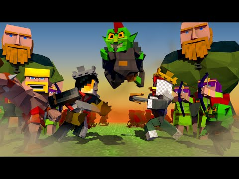 Clash of Clans Movie Animated! (Minecraft Animation)
