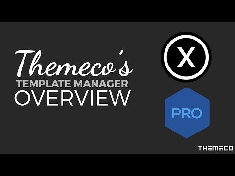 How to Use Themeco's Template Manager and Presets Feature