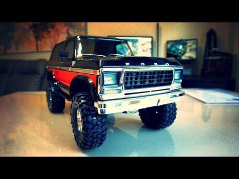 Unbox Traxxas TRX4 Ford Bronco 1/10 Scale Rock Crawler