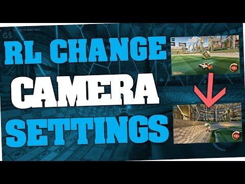 Rocket League - How to change Camera angle & settings (RL)